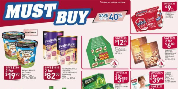 NTUC FairPrice Your Weekly Saver Promotion 19-25 Mar 2020