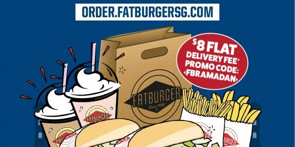 IFTAR at Home with Fatburger Singapore Islandwide Delivery!