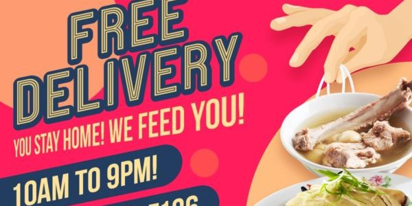 Enjoy FREE ISLAND-WIDE DELIVERY when you order Monga Fried Chicken, Founder Bak