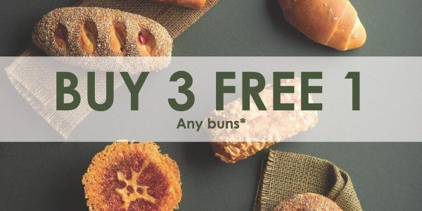 Barcook Bakery SG Buy 3 FREE 1 Promotion