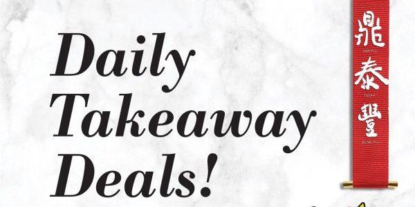 Din Tai Fung Singapore Daily Takeaway Deals