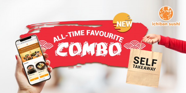 Ichiban Sushi SG All-time Favourite Combo Save Up to 23%