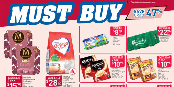 NTUC FairPrice SG Your Weekly Saver Promotion 2-8 Apr 2020
