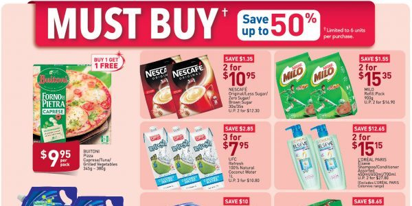 NTUC FairPrice SG Your Weekly Saver Promotion 30 Apr – 6 May 2020