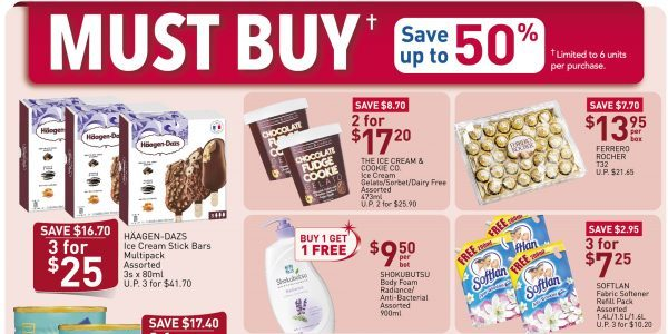 NTUC FairPrice SG Your Weekly Saver Promotion 9-15 Apr 2020