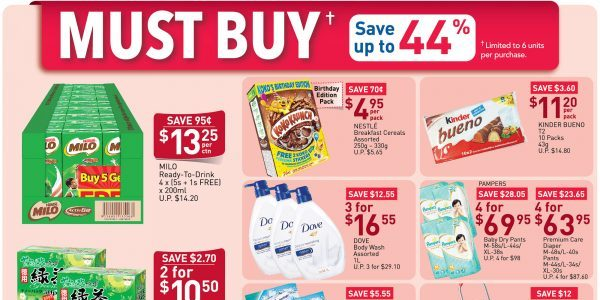 NTUC Singapore Your Weekly Saver Promotion 23-29 Apr 2020