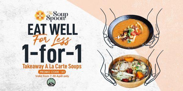 The Soup Spoon 1-for-1 Takeaway A La Carte Soups