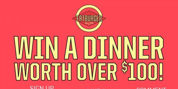 Win a dinner worth over $100 this Mother's Day at Fatburger from now till 8th May!