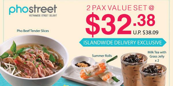 ISLANDWIDE DELIVERY! Enjoy up to 20% OFF Set Meals! 🤑