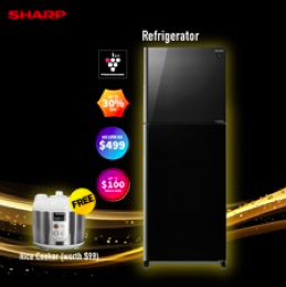 Up to 50% OFF Exclusive #StayHome Deals for Sharp Appliances from now to 31 May 2020! | Why Not Deals 3