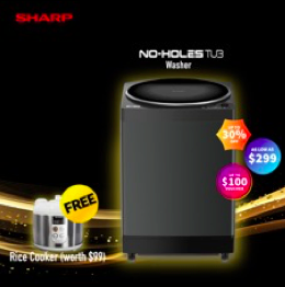 Up to 50% OFF Exclusive #StayHome Deals for Sharp Appliances from now to 31 May 2020! | Why Not Deals 2