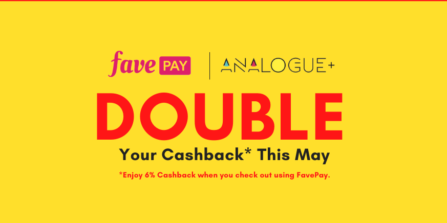 Double Your Cashback this May
