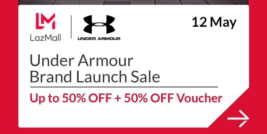 Under Armour x LazMall Launch Sale