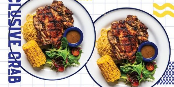 El Carbon Singapore 2 Charbroiled Chicken Chop for $15 GrabFood Promotion