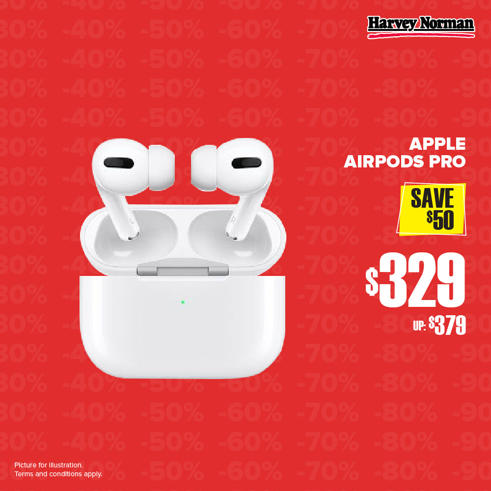 Harvey Norman Singapore 5 Days Impossible Sale Up to 60% Off Promotion | Why Not Deals 1
