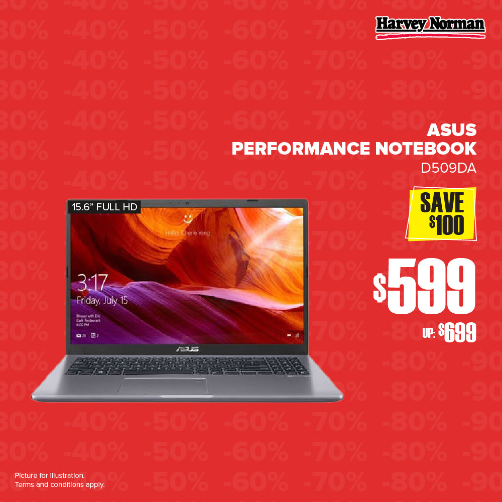 Harvey Norman Singapore 5 Days Impossible Sale Up to 60% Off Promotion | Why Not Deals 3