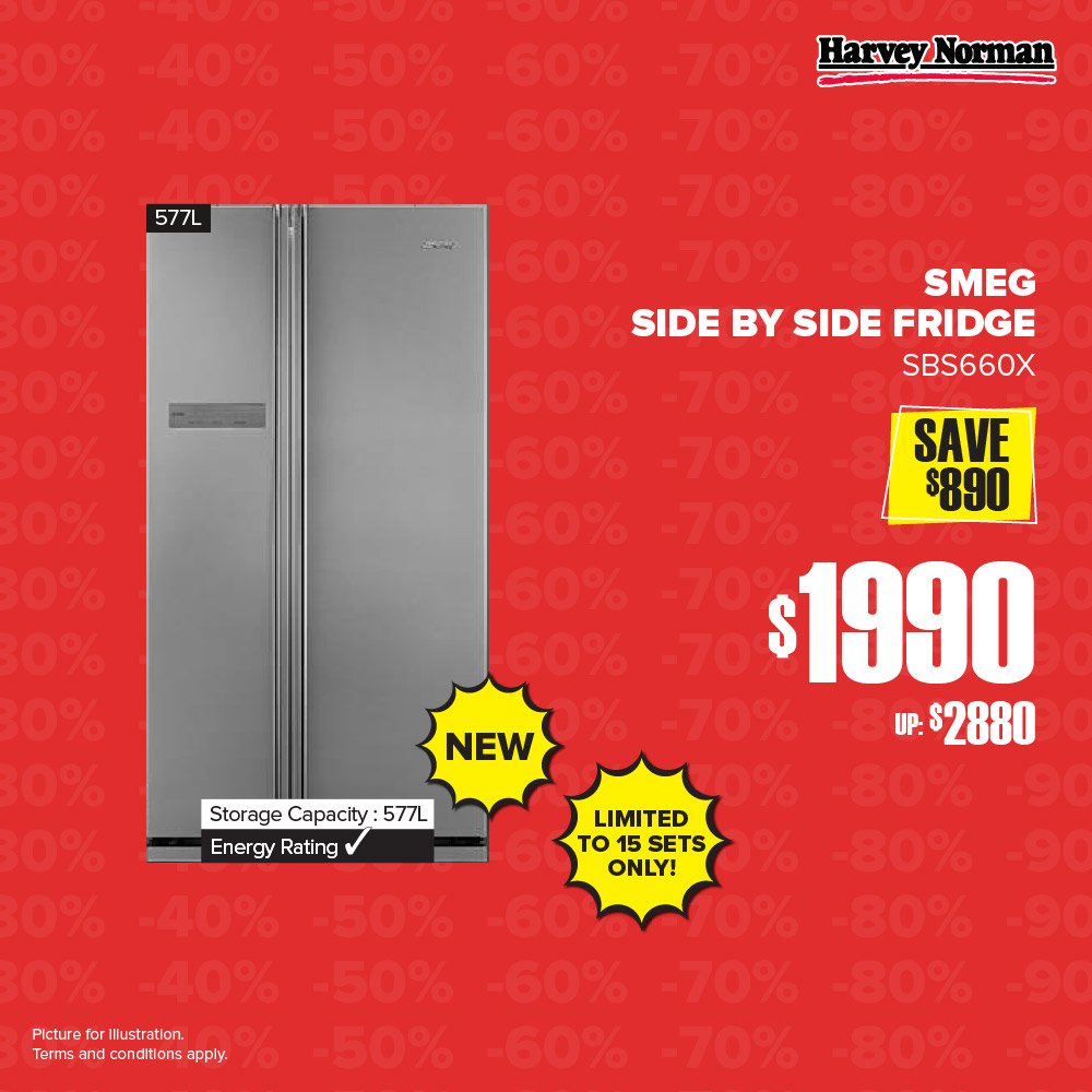 Harvey Norman Singapore 5 Days Impossible Sale Up to 60% Off Promotion | Why Not Deals 4