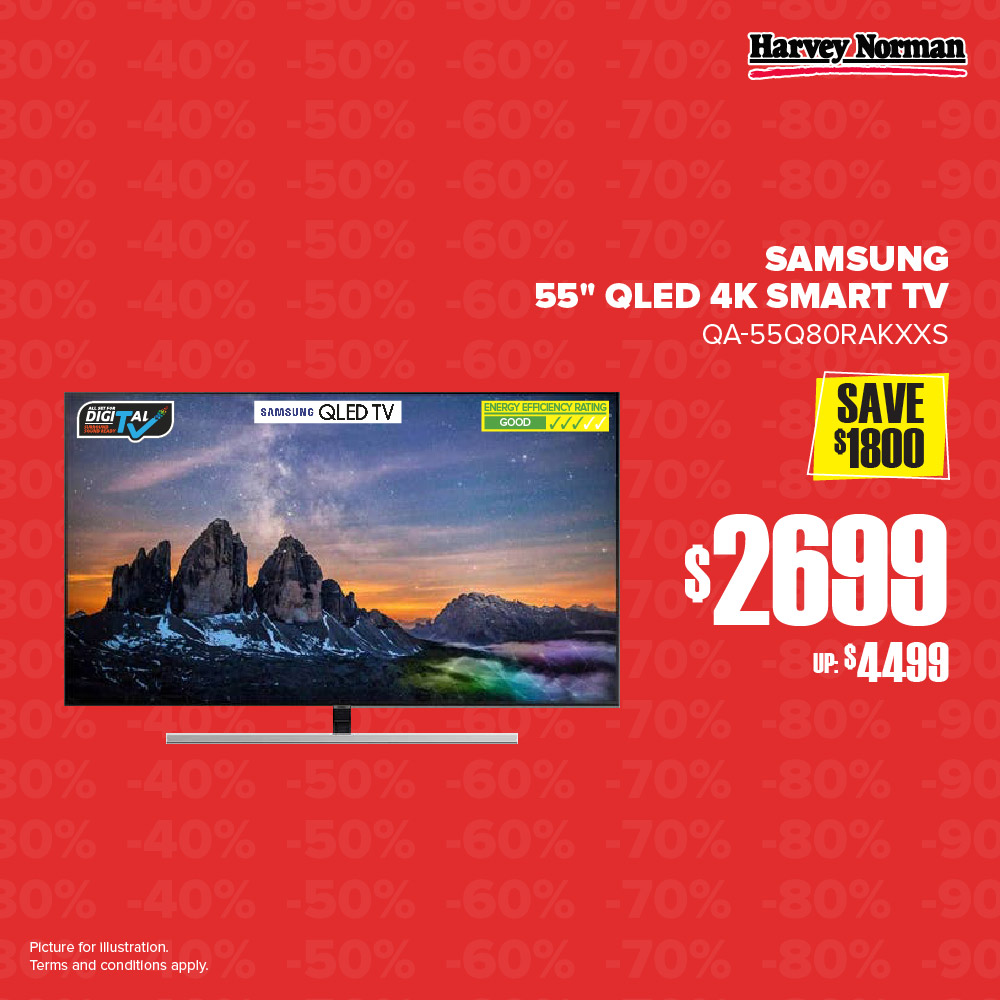 Harvey Norman Singapore 5 Days Impossible Sale Up to 60% Off Promotion | Why Not Deals 5