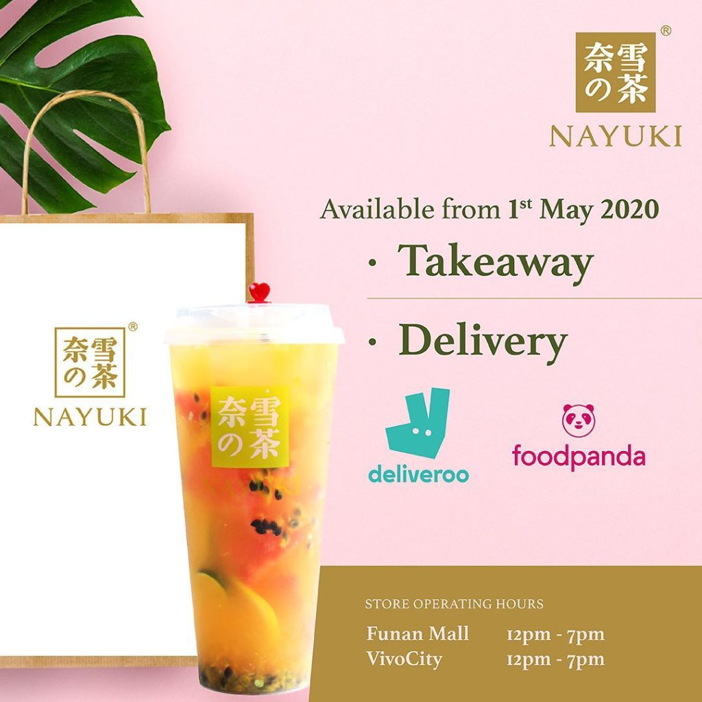 Nayuki 奈雪の茶 Singapore 1-for-1 Drinks Takeaway Promotion | Why Not Deals