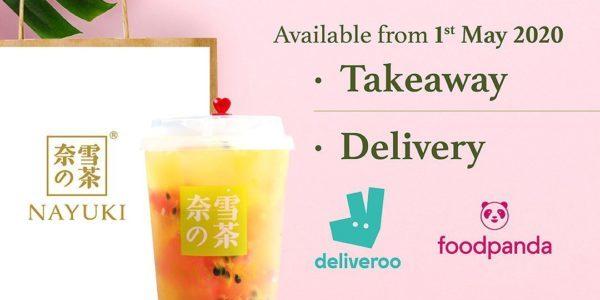 Nayuki 奈雪の茶 Singapore 1-for-1 Drinks Takeaway Promotion