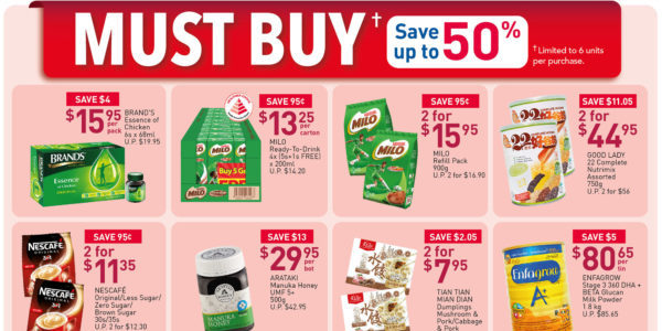NTUC FairPrice SG Your Weekly Saver Promotion 28 May – 3 Jun 2020