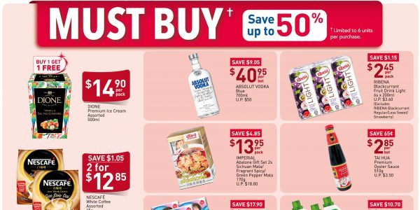 NTUC FairPrice SG Your Weekly Saver Promotion 7-13 May 2020