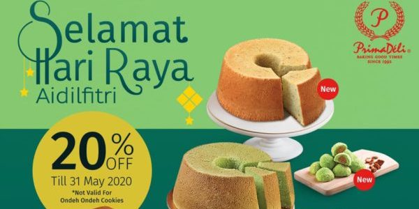 PrimaDeli Singapore 20% Off Hari Raya Goodies Promotion