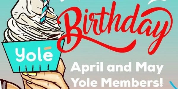 Yolé Singapore 1-for-1 Birthday Vouchers Extended for April & May YOLÉ Members