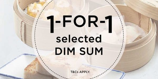 Shang Social Singapore 1-for-1 Promo For DBS/POSB Cardmembers on Selected Dim Sum