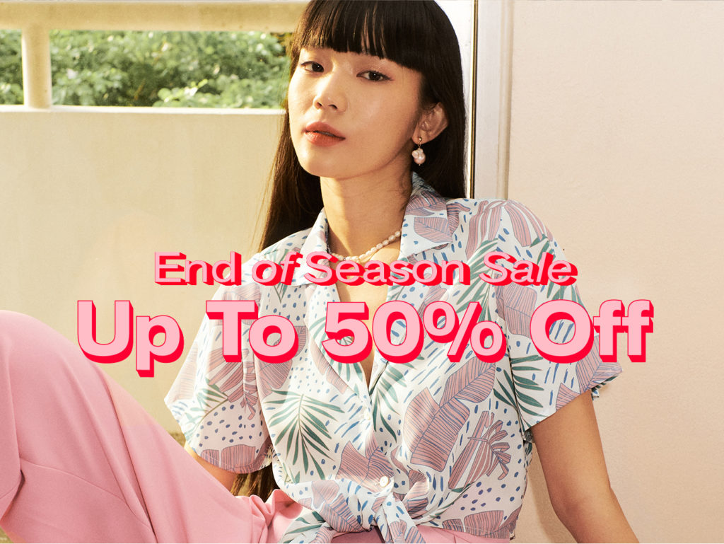 POMELO END OF SEASON SALE is here, enjoy up to 50% OFF when you shop online!   Why Not Deals 1