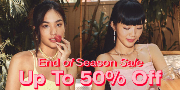 POMELO END OF SEASON SALE is here, enjoy up to 50% OFF when you shop online!