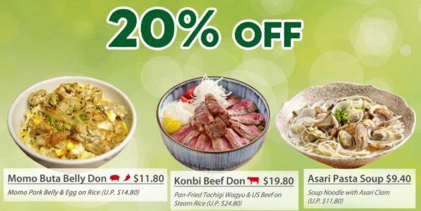 20% OFF Sushi Tei Seasonal Spring Breeze Menu from 12th June onwards