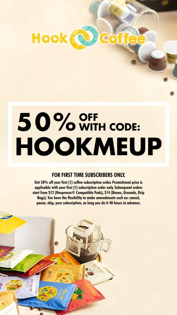 Hook Coffee Offers New Subscribers 50% Off Their First Purchase! | Why Not Deals 1