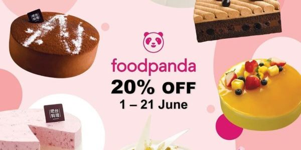 Barcook Bakery Singapore 20% Off Chilled Cakes on foodpanda