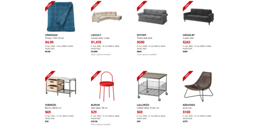 IKEA Singapore Up to 50% Off Online Only Sale