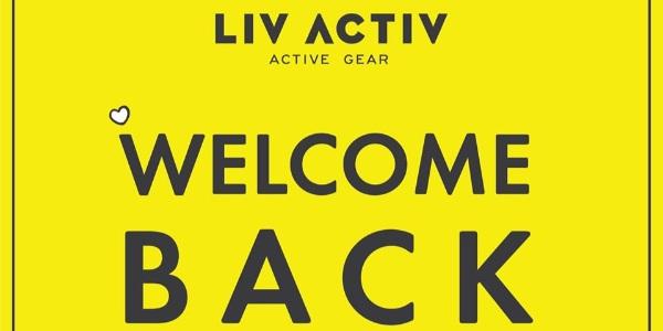 LIV ACTIV Singapore Welcome Back Sale Up to 50% Off Promotion ends 30 Jun 2020