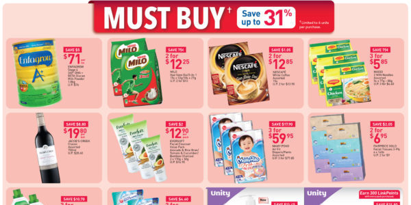 NTUC FairPrice SG Your Weekly Saver Promotion 4-10 Jun 2020