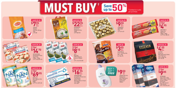 NTUC FairPrice SG Your Weekly Saver Promotions 11-17 Jun 2020