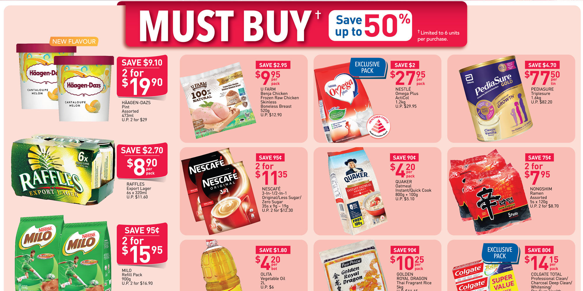 NTUC FairPrice SG Your Weekly Saver Promotions 18-24 Jun 2020