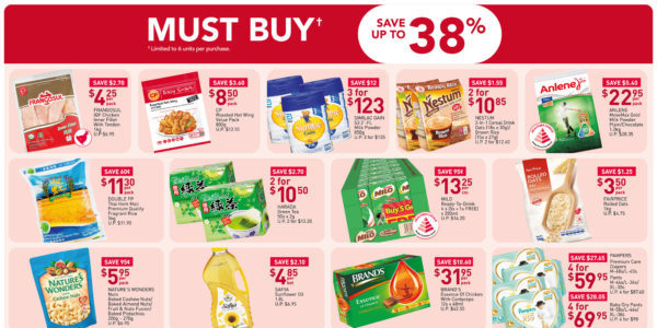 NTUC FairPrice SG Your Weekly Saver Promotions 25 Jun – 1 Jul 2020