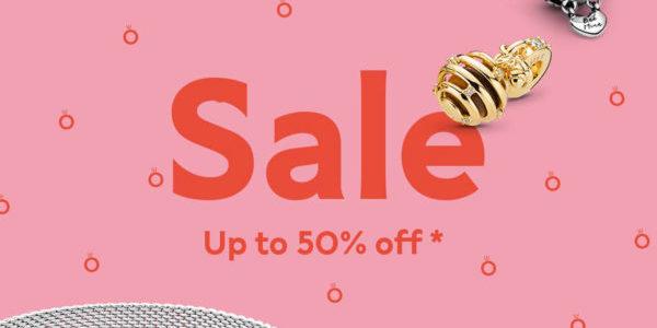 Pandora Summer Sale – Up to 50% Off