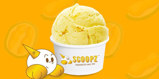 Scoopz Ice Cream Singapore $10 Off First Purchase Promo Code