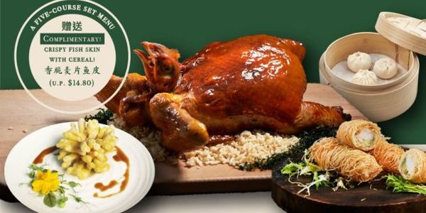 Shang Social SG Father's Day Set Menu 20% Off Early Bird Promotion ends 14 Jun 2020