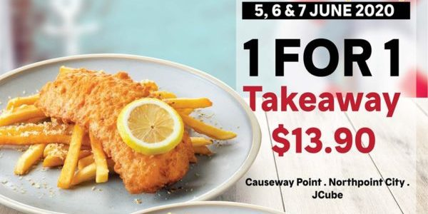 The Manhattan FISH MARKET SG National Fish & Chips Day 1-for-1 Promotion
