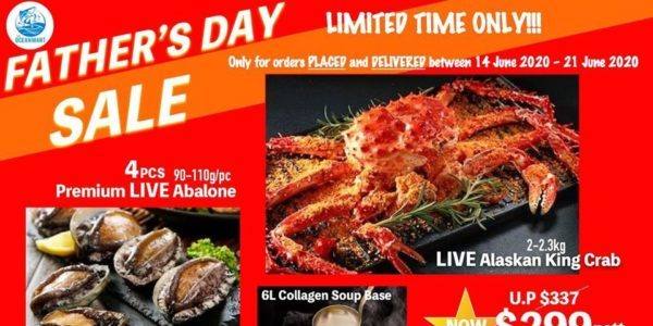 The Ocean Mart Singapore Father's Day Sale 14-21 Jun 2020