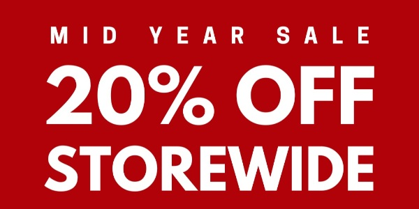 The Wallet Shop SG is having a 20% OFF MID-YEAR STOREWIDE SALE!