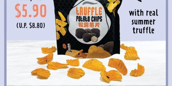 Fragrance SG Truffle Potato Chips Only At $5.90 Promotion 23-29 Jul 2020