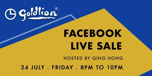 Goldlion Facebook Live Sale