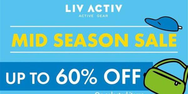 LIV ACTIV SG Mid Season Sale Up to 60% Off Promotion ends 26 Jul 2020
