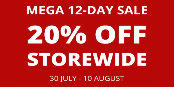 MEGA 12-DAY 20% OFF STOREWIDE SALE – THE PLANET TRAVELLER